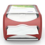 Tork Xpressnap Counter Napkin Dispenser - Red