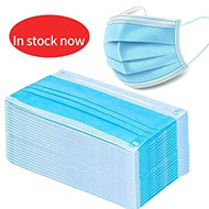 3 Ply Disposable Face Masks with Earloops (x1000)