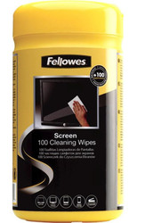 Fellowes Screen Cleaning Wipes Tub Of 100