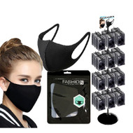 Reusable Face Mask - Black (x100)