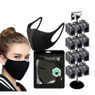 Reusable Face Mask - Black (x100)