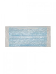 3 Ply Sterile Disposable Face Masks with Earloops - individually wrapped (x35)
