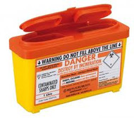 SharpsGuard sharps-bin ORANGE 1L