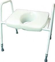 Batriatric Raised Toilet Seat with Frame BTA03