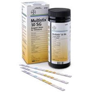 Siemens Multistix 10 SG Reagent strips for urinalysis x 100