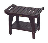 "Patented 24"" Tranquility Teak Shower Bench- DT156"