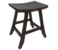 DecoTeak Satori™ Indoor Outdoor Teak Bistro Stool - 24 inch Height