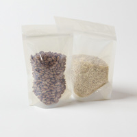 Compostable bioplastic flex pouch