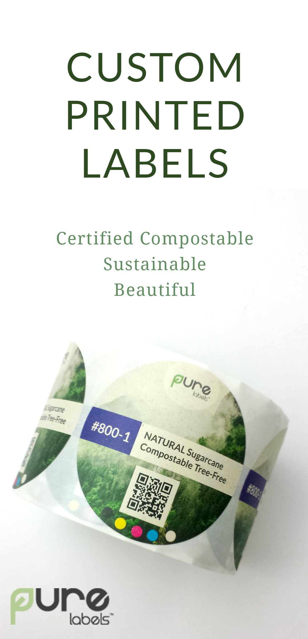 PURE Labels custom printed labels