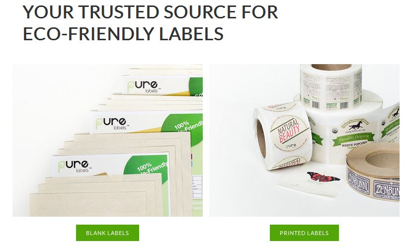 Trusted Source for EcoFriendly Labels!