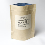 Kraft 8oz Compostable Stand Up Pouch [100 Bags]