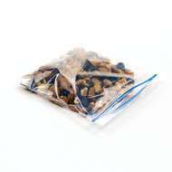 small ecofriendly snack bag with zipper