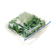 large flat home compostable zip bag