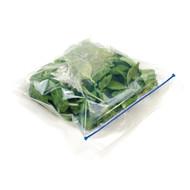 large flat home compostable zip bag