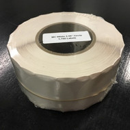 "2.56"" White Compostable Circle, 3"" Core [1,750 labels] [CLOSEOUT]"