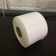 "0.25"" x 2.25"" Compostable White Rectangle, 1"" Core [1000 labels] [CLOSEOUT]"