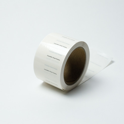 Compostable closure tape
