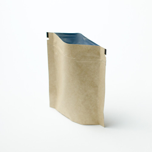 2oz kraft compostable pouch