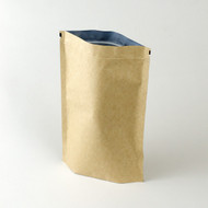 kraft stand up pouch