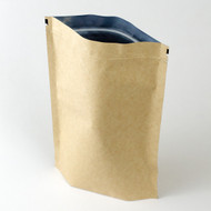 32oz Kraft Compostable Stand Up Pouch [100 Bags]