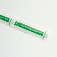 "1 x 3.5"" Compostable Reseal Tape"