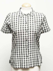 Classic Gingham Shirt - Ebony Mist