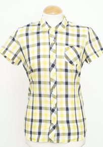 Classic Gingham Shirt - Vibrant Yellow