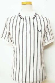 Vertical Club Stripe Shirt - Snow