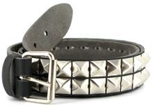 Vegetarian Shoes Vegan Studded belt (Pyramid) - Black