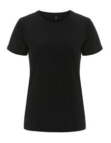 Organic T Shirt (Womens) - Black