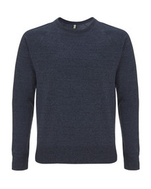 Recycled Sweater - Melange Navy