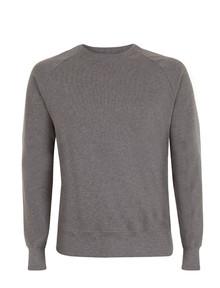 Organic Raglan Sweatshirt - Dark Heather