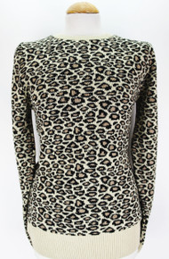 Printed Sweater - Leopard