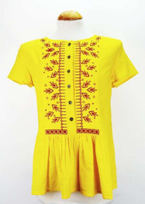 Zak Tunic - Yellow