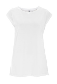 Sleeveless Tencel-Blend Top (Womens) - White
