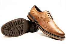 Continental Brogues - Tan