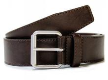 Wills Vegan 4cm Belt - Brown