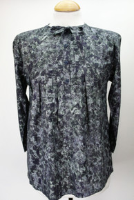 Smock Tunic Top - Dark Colourway