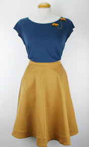 Lulana Skirt - Cashew