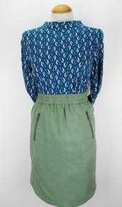 Antep Tencel Skirt - Khaki
