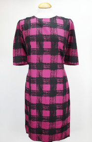 Lizzie Dress - Deep Rose