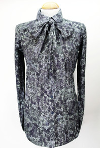 Organic  Blouse - Dark Colourway