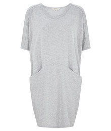Pamela Dress - Melange Grey