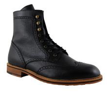 FAIR Brogue Boot - Black