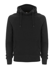 Organic Fairtrade Hoody - Black