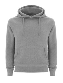 Organic Fairtrade Hoody - Melange Grey