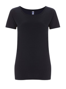 Fairtrade Organic Scoop T (Womens) - Navy