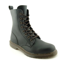 Workers Playtime Hawksbill Vegan Boot - Black and Brass