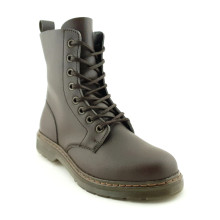 Workers Playtime Hawksbill Vegan Boot - Brown and Brass