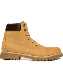 Dock Boot (Mens) - Tan Suede
